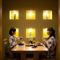 料亭個室 テーブル席イメージ