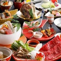 秋冬 日本料理の伝統を継承する旬会席11品