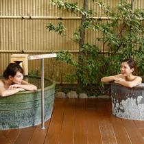 露天風呂 ゆのね 左の湯