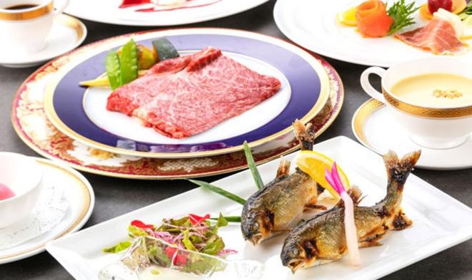 【基本プラン】夕食:フランス料理 ご宿泊プラン