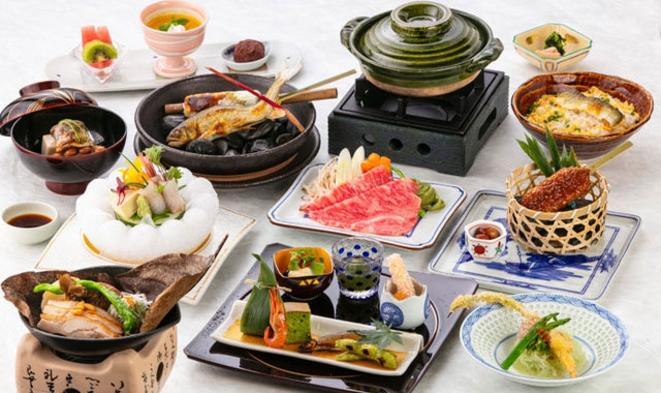 【基本プラン】夕食:日本料理 会席ご宿泊プラン