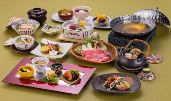 【10・11・12月】旬の味覚を味わう 日本料理 宿泊プラン