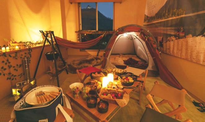 【1日1部屋限定】スイートルームに泊まるグランピング宿泊プラン