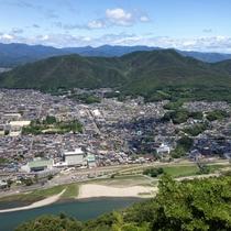★岐阜城展望台からの眺め
