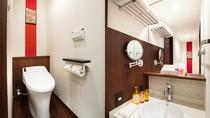 【ダブルルーム】トイレ・洗面台