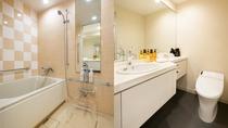 【ツインルーム】バスルーム・洗面所