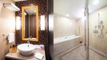 【スイートルーム】洗面台・バスルーム