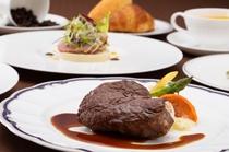ラコンテ GoTo限定ディナー(Bコース)国産牛フィレ肉のソテー