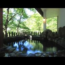 ◆開放的な露天風呂