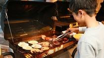 夕食バーベキュー-BBQスタンダード