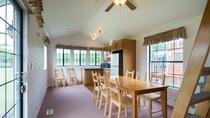 パークコテージ-1階リビングキッチン