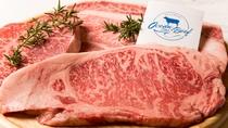 夕食バーベキュー-BBQプレミアム(ブランド牛)