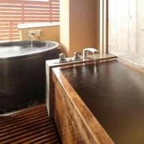 【露天風呂付客室】一例