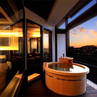 禁煙◆2020年11月新装露天付和ベッド客室<5F海側>