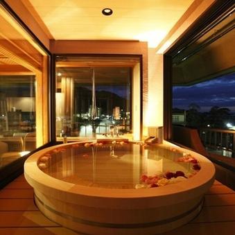 【藤の間-ふじのま】客室最上階◆絶景露天風呂付貴賓室