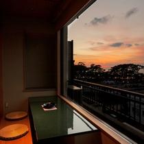 【客室】オーシャンビュー客室 一例