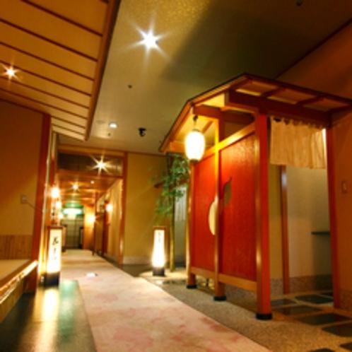 【施設】個室料亭入口