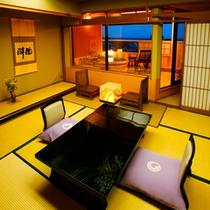 【客室】露天付客室 一例