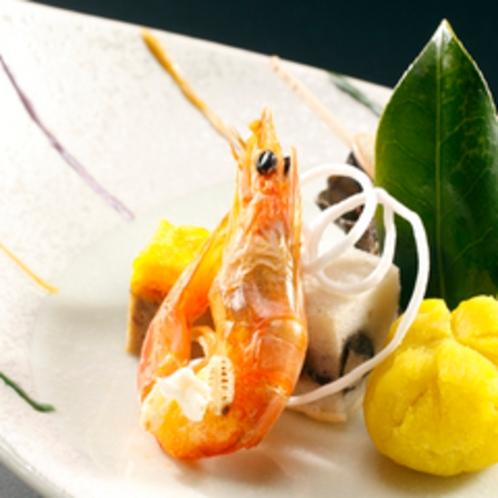 【料理】季節の会席一例 前菜