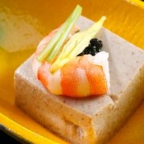 【料理】季節の会席一例 季節のお豆腐