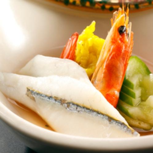 【料理】季節の会席一例 酢の物