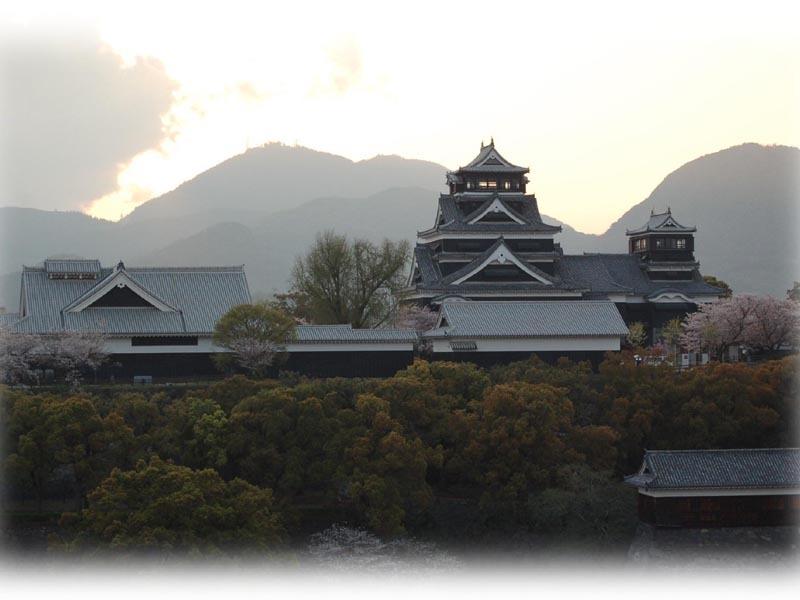 熊本城−夕暮れ(2)