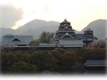 熊本城-夕暮れ②