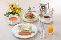 【朝食】モーニングサンドウィッチ