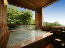 貸切風呂「木の香の湯」