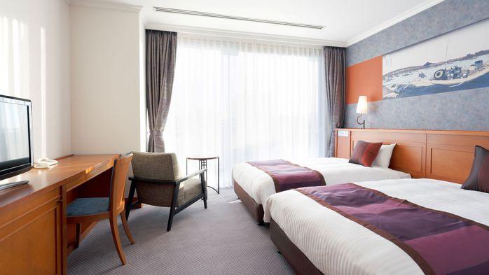 モダンジャパニーズプレミアムルームの寝室
