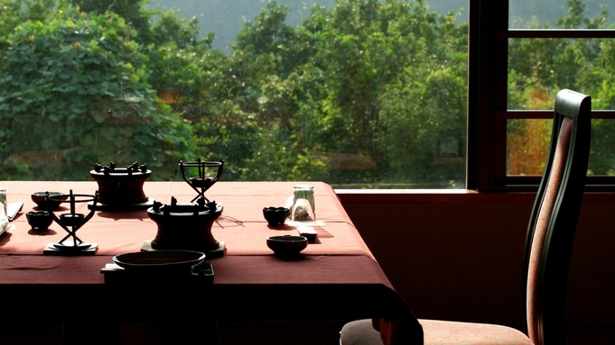 【個室食事処確約】夕食&朝食は個室で上州牛付会席料理を!