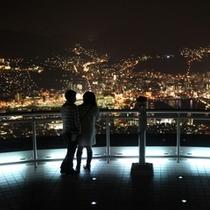 展望台からの夜景2