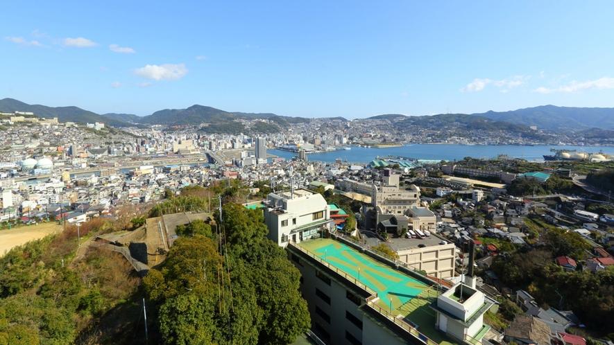 屋上からの景観