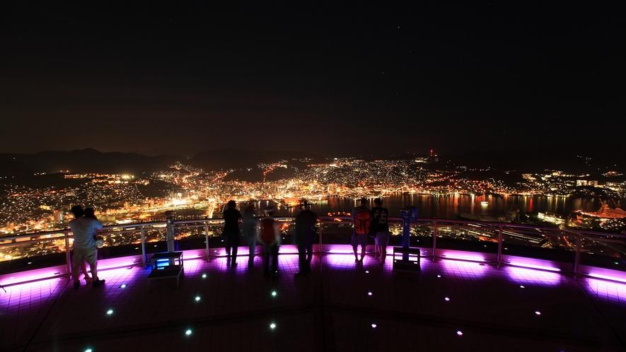 稲佐山展望台からの夜景