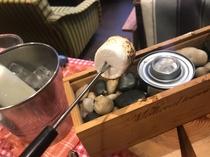 朝食_焼きマシュマロ