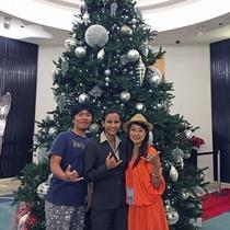 クリスマスにはツリーが登場します!