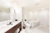 デラックスルーム オーシャンビュー バスルーム 一例