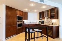 プレミアム 1ベッドルーム プラス デン オーシャンビュースイート キッチン 一例