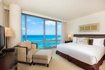 プレミアム 3ベッドルーム オーシャンフロントスイート ベッドルーム 一例