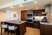 デラックス 2ベッドルーム プライムオーシャンビュースイート キッチン 一例