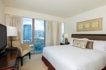 デラックス 2ベッドルーム シティービュー ベッドルーム 一例