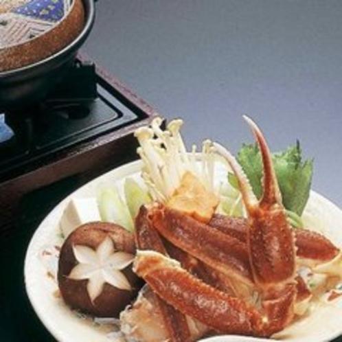 【夕食】 かにすき鍋
