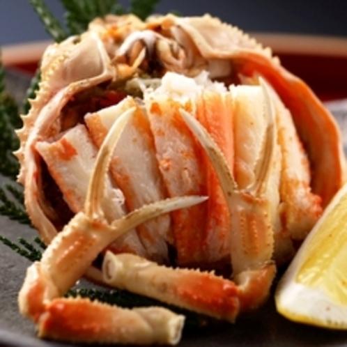 【夕食】 せいこ蟹
