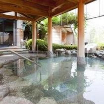 【源泉大浴場】 女性大浴場「百百の湯」露天風呂