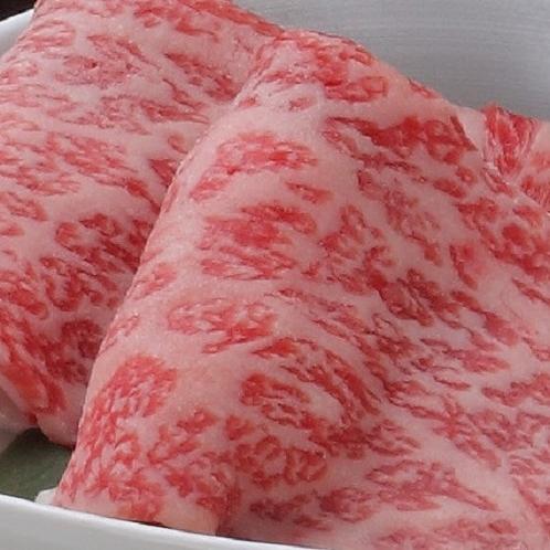 お肉たっぷり会席(牛しゃぶ鍋)