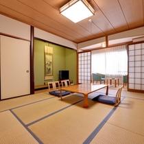 *和室10畳(客室一例)/グループや家族でのご宿泊に◎純和風のお部屋でのんびりとお寛ぎ下さい。