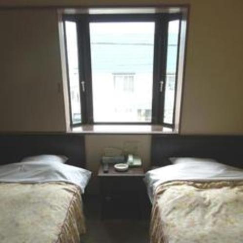 【ツインルーム】ゆったりとしたスタンダードなお部屋