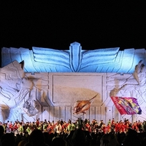 【旭川冬祭り】メインステージでは色々な催しものも