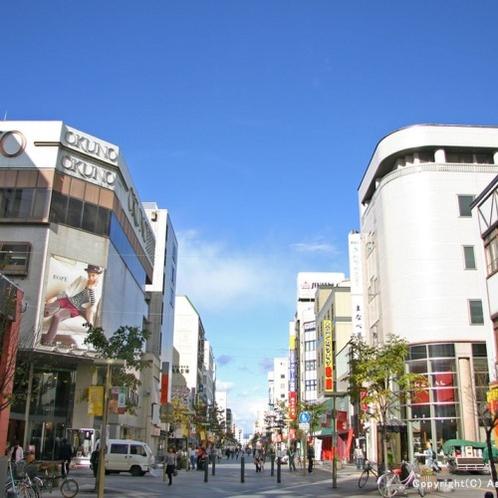 【買い物公園】旭川の中心街♪ショッピングやグルメを満喫