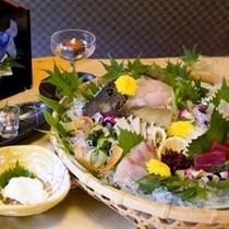 海の幸を味わう料理プラン